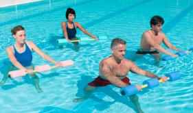 水中运动训练助你远离腰背痛