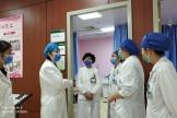 副院长张海英带队进行医院感染风险排查工作